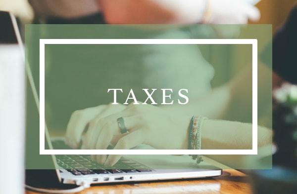 Taxes - Sloan Advisory Group